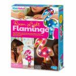 Flamingo Lamp Maken 4M Hang Staan Lampje Maken Licht Meisje Girl Kamer Eigen Idee Inspiratie Knutsel Creatief Sint 4msp-5604743