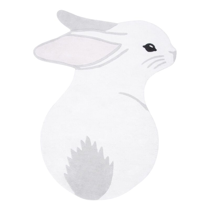 Konijn Vloerkleed Forest Lilipinso Bunny Rabbit Vloerkleedje Kinder Peuter Baby Kamer QIDDIE.com lili-H0651