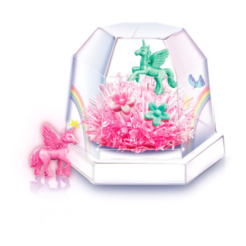 Kristal Terrarium Eenhoorn 4M 1 Cristal Unicorn Maken Bewaren 4msp-5603923