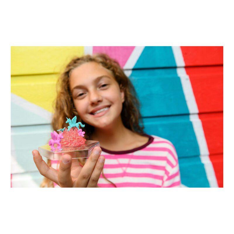 Kristal Terrarium Eenhoorn 4M Meisjes Girls Kado Verjaardag 8 Jaar Samen Alleen Resultaat 4msp-5603923