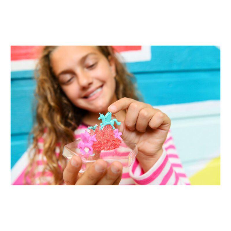 Kristal Terrarium Eenhoorn 4M Meisjes Girls Ontdek Samen Stellen Cristal 4msp-5603923