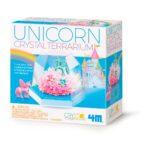 Kristal Terrarium Eenhoorn 4M Unicorn Girls Meisjes 8 Jaar 4msp-5603923