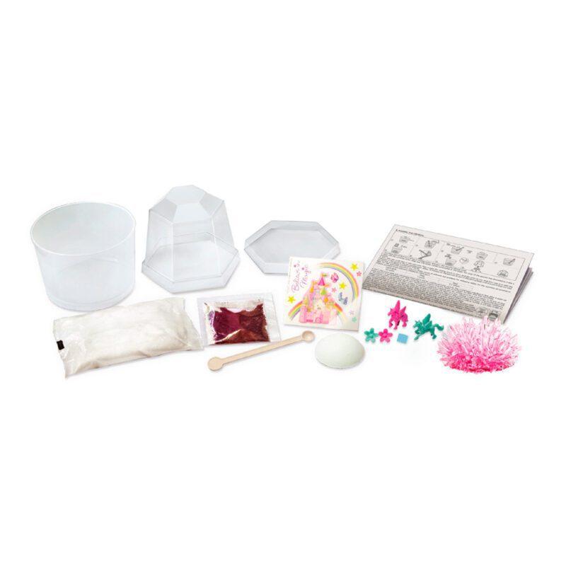 Kristal Terrarium Eenhoorn 4M Unicorn Inhoud Doos Verpakking Benodigdheden 4msp-5603923