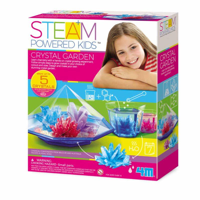 Kristalen Tuin Kweken 4M 4M Speelgoed Creatief Girls Meisjes Cristals Groeien Kweek Ontdek 4msp-5604901