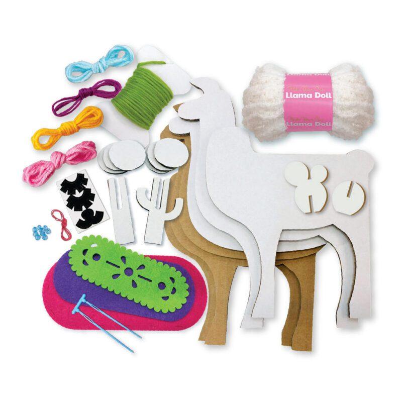 Lama Knutselen 4M Samen Alleen Creatief Spelen Bezig Activiteit Meisjes Girls Compleet Pakket 4M Speelgoed 4msp-5604755