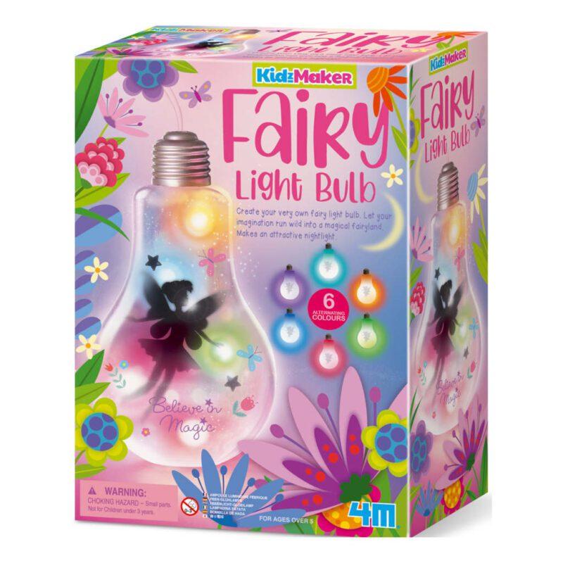 Lampenpeer Fee Maken 4M Fairy Light Bulb Meisjes Gils Creatief Ontdekken 4M Speelgoed 4msp-5604772