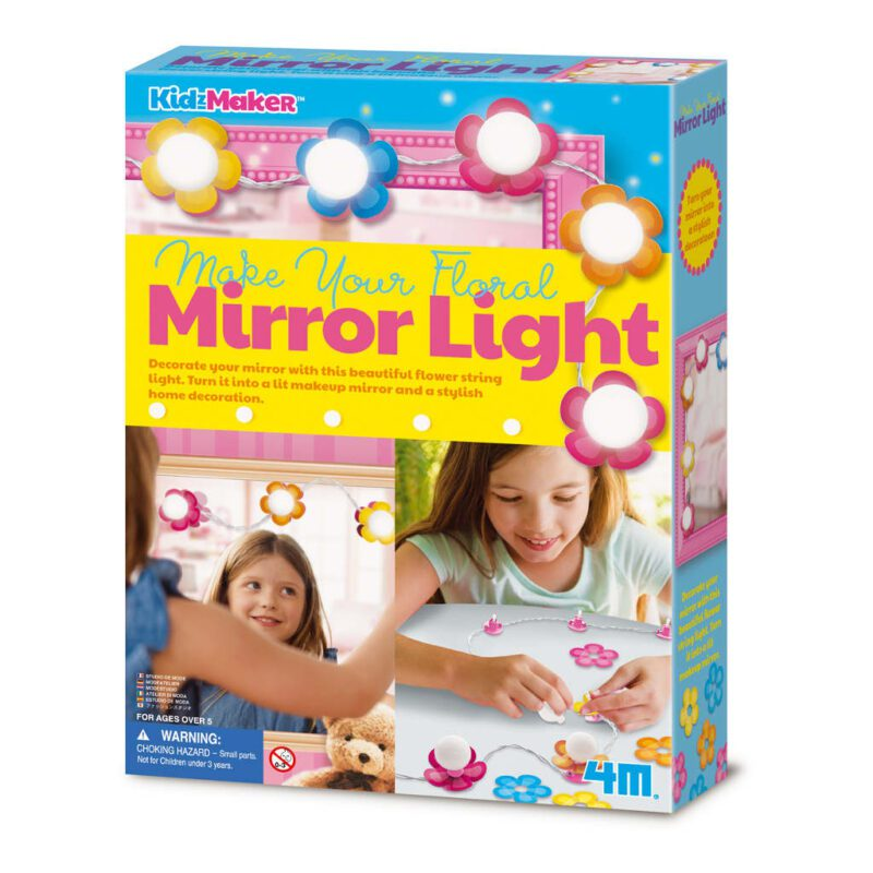 Lichtsnoer Bloemen Maken 4M Voor Langs De Spiegel Girls Meisjes Creatief Pakket Knutsel Ontdekken Maken Effect 4msp-5604742