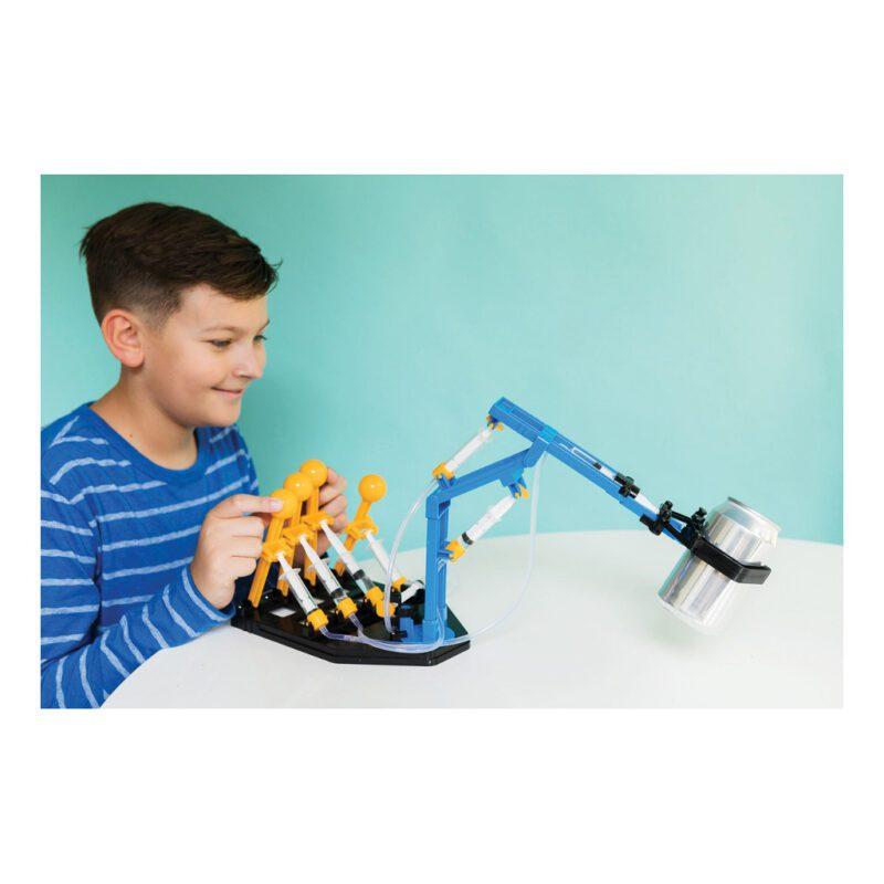 Mega Hydraulische Robot Arm Maken 4M Concentratie Grijper Maken Wegen Links Rechts Voor Achter 4 Handels Samen Werken 4msp-5603427