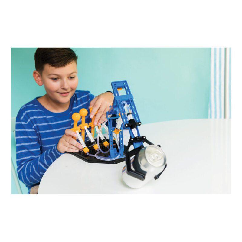 Mega Hydraulische Robot Arm Maken 4M Creatief Ontdek Techniek Pakket Bouwen Kind 8 Jaar Kado Cadeau Verjaardag 4msp-5603427