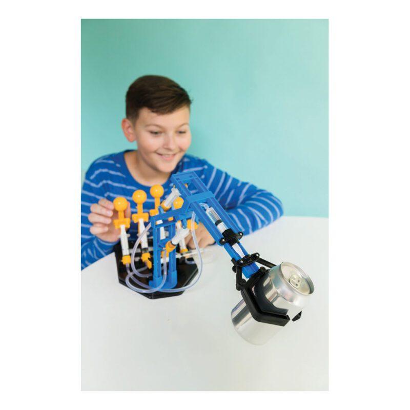 Mega Hydraulische Robot Arm Maken 4M Kind Bouw Pakket Techniek Ontdekken Technisch Oplossen 4msp-5603427