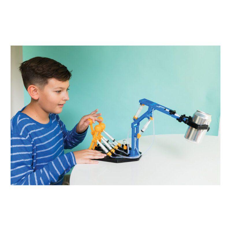 Mega Hydraulische Robot Arm Maken 4M Logisch Denken Oplossingen Uitproberen Onderzoeken 4msp-5603427