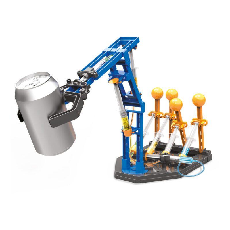 Mega Hydraulische Robot Arm Maken 4M Objecten Optillen Verplaatsen Kind 8 Jaar Idee Kado Cadeau Geven Kerst Sinterklaas Tip 4msp-5603427