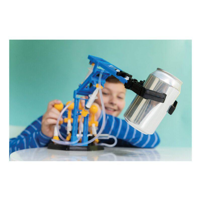 Mega Hydraulische Robot Arm Maken 4M Plezier Ontdek Trots Bewegen Alle Kanten Kind Verjaardagscadeau 8 Jarige 9 Jarige 10 Jarige Sint Kerst Tip 4msp-5603427