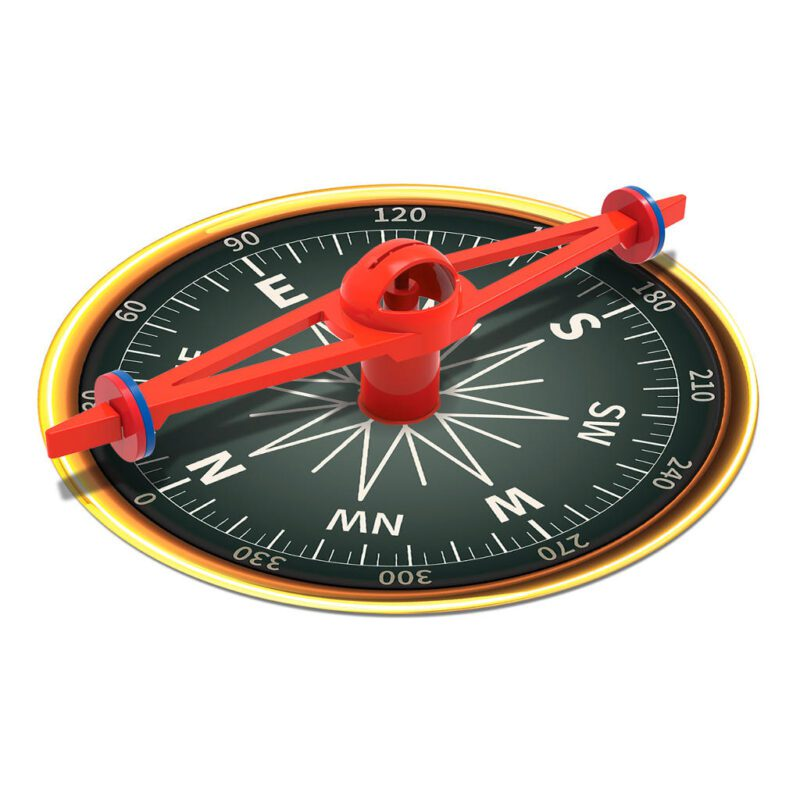 Mega Kompas Maken 4M Herkenbaar Compas No Sw Ow Ne Es Engelse Windstreek Benaming Natuur Lopen Jongen Meisje Boy Girl Cadeau Tip Kado 6 Jaar Kind 4msp-5603438