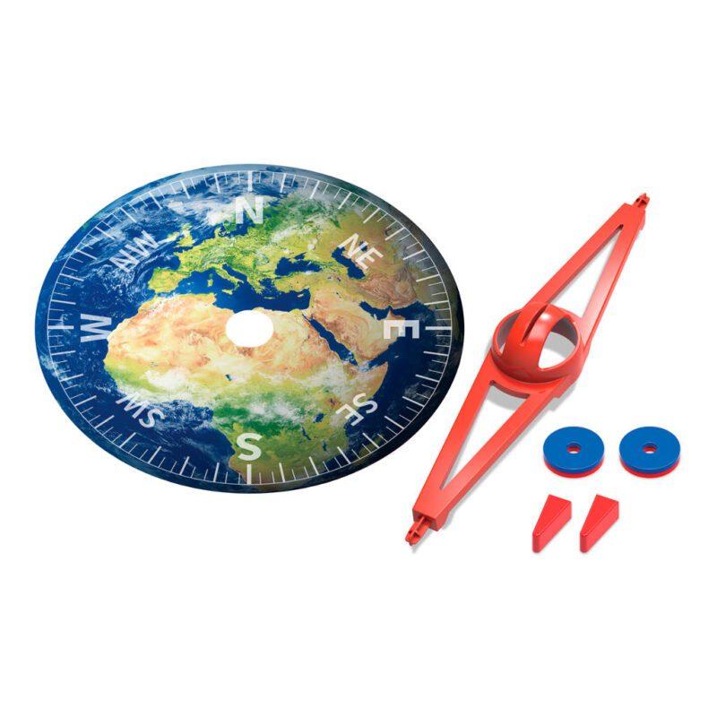 Mega Kompas Maken 4M Karton Bouwen Maken WIndstreken Grade Leren Kennen 4msp-5603438
