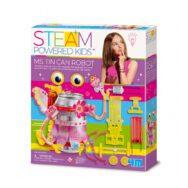 Miss Robot Maken 4M Robot Blikje Maken Meisjes Girls Zelf In Elkaar Zetten Bouwen Spelen Ontdekken 4msp-5604906