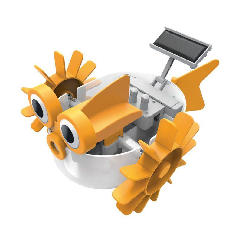 Nieuw Water Robot Maken 4M Geel Zonne Energie Aandrijving Geen Batterije Jongen Meisje Sint Kerst Kado Cadeau Tip 4msp-5603415