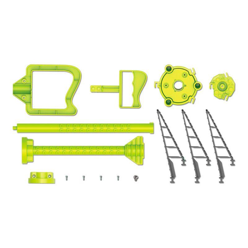 Octopus Robotklauw Maken 4M Onderdelen Inhoud Verpakking Benodigdheden 6 Jaar 7 Jaar 8 Jaar Speelgoed Kado Cadeau 4msp-5603434