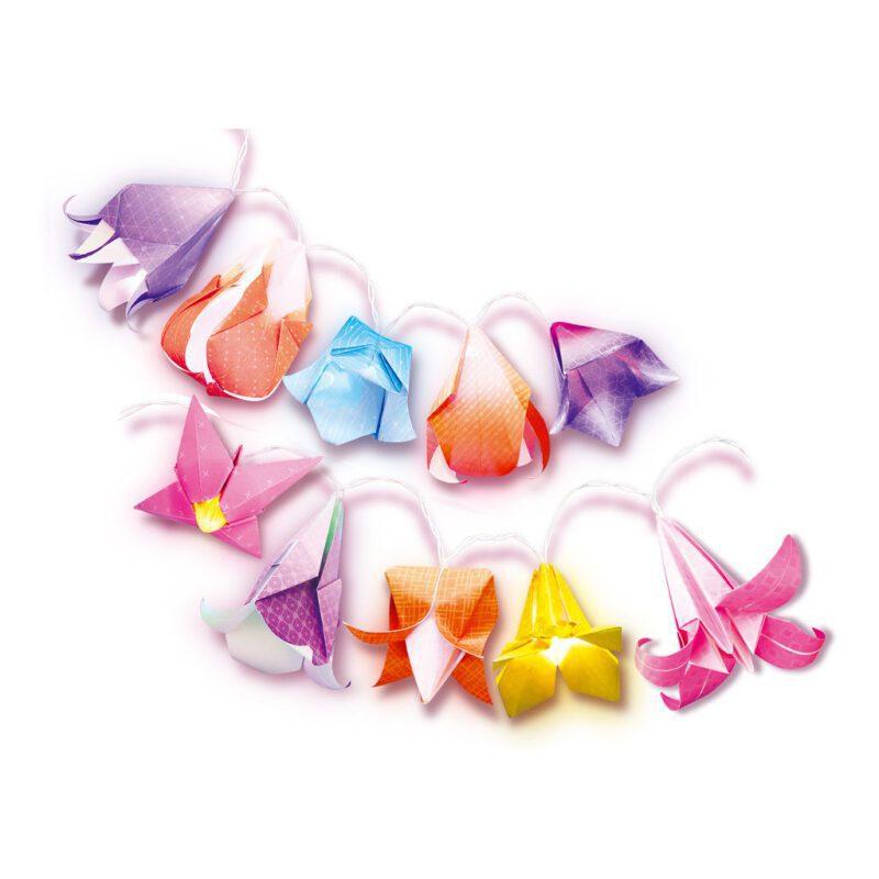 Origami Bloemlichtjes Maken 4M Ontdek Bouw Knutsel Creatief Pakket Girls Meisjes 8 Jaar Kado Cadeau Sinterklaas Kerst 4msp-5604725