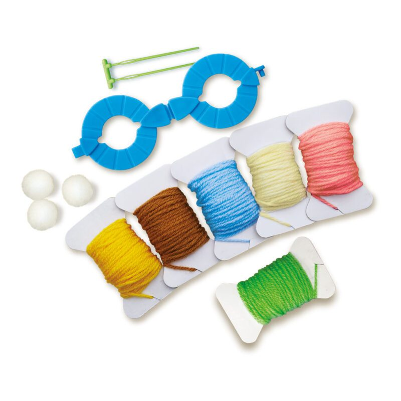 Pom Pom Dieren 4M Knutsel Creatief Spelen Ontdekken Jongen Meisje Boy Gril Inhoud Doos Verpakking 4msp-5604760