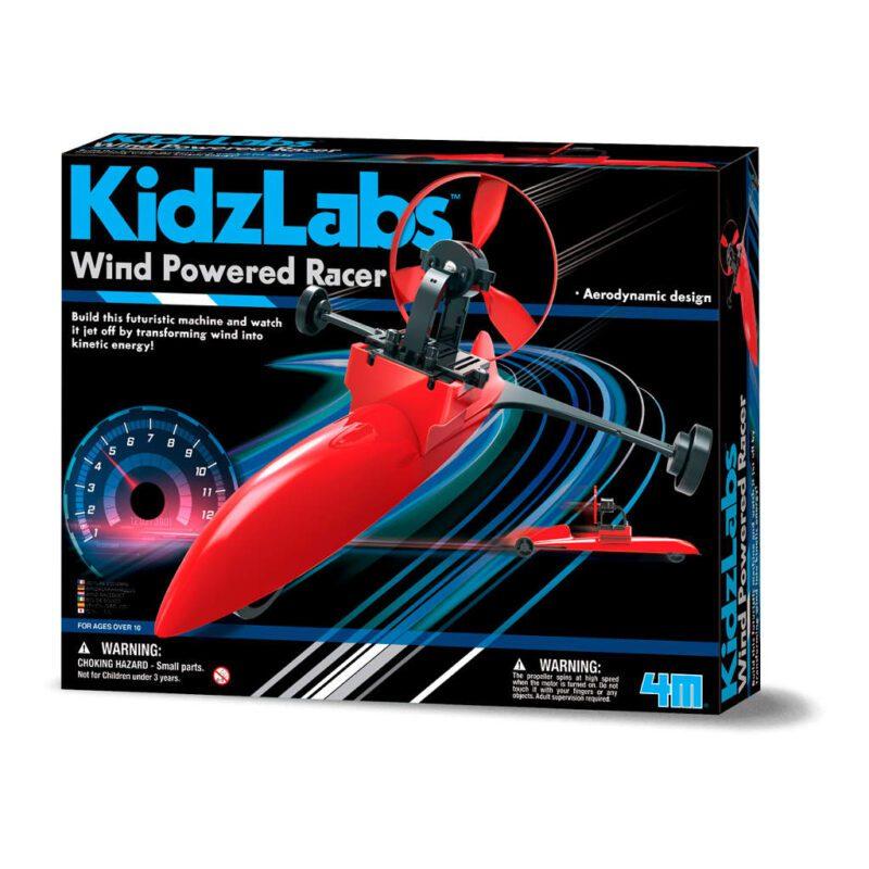Race Car Wind Aandrijving Maken 4M Bouwpakket Jongen Boys Ontdek 4msp-5603437