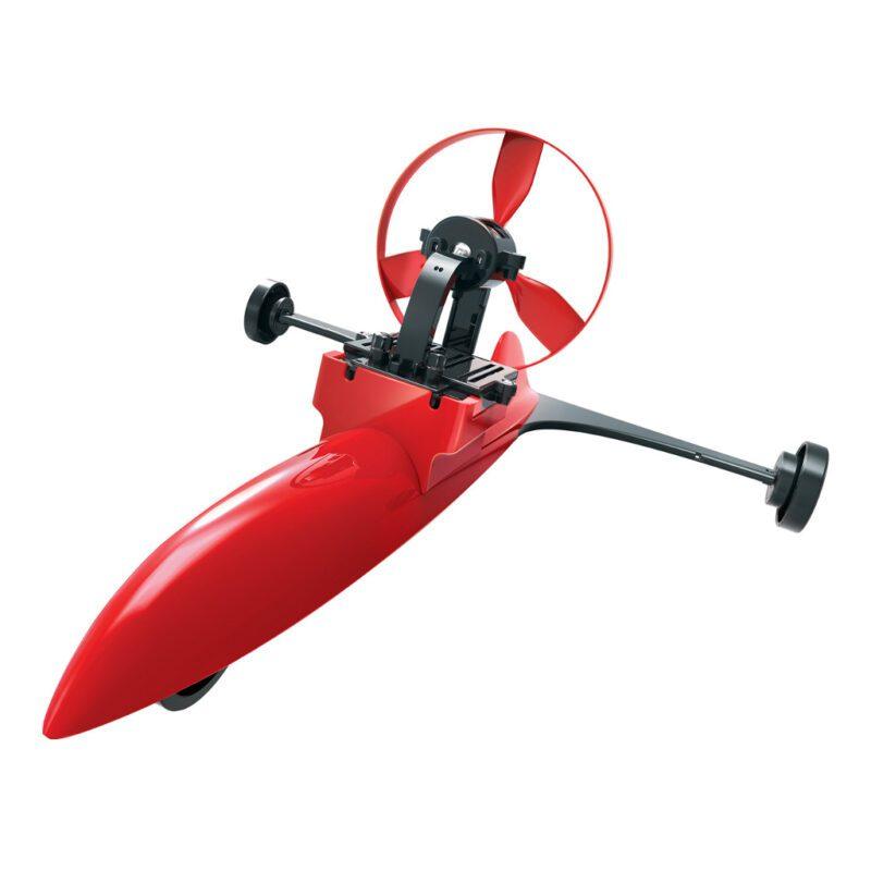 Race Car Wind Aandrijving Maken 4M Mechanisch Bouwen Grond Laten Rijden Door Wind Batterij 4msp-5603437