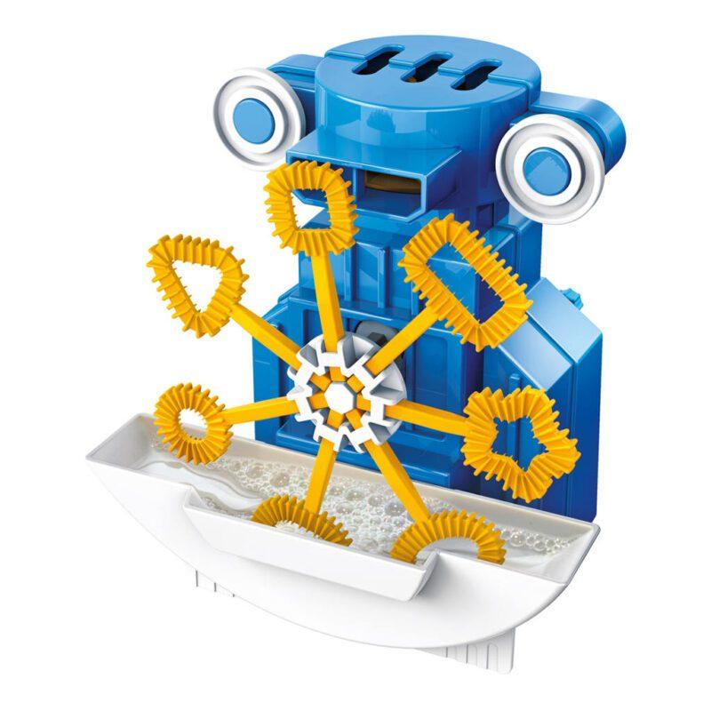 Robot Bellenblazer Maken 4M Blauw Geel Ontdek Bouw Speel Kind Jongen Meisje 4msp-5603423