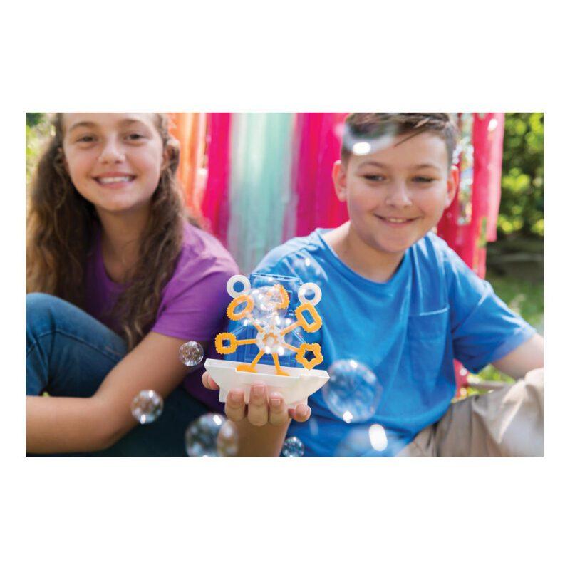 Robot Bellenblazer Maken 4M Bouwpakket Bellenblaas Machine In Elkaar Bouwen Kind Mechanisch 4msp-5603423