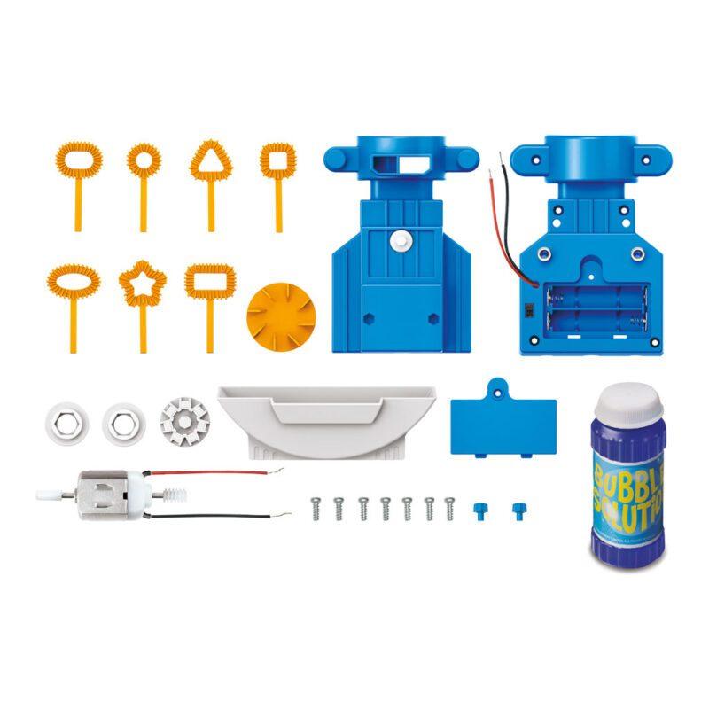 Robot Bellenblazer Maken 4M Inhoud Doos Verpakking Samen Stellen Draai Sob 4msp-5603423