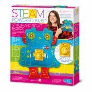 Robot Naaien 4M Stof Maken Met Geluid Meisjes Steam Powered Kids 4msp-5604911
