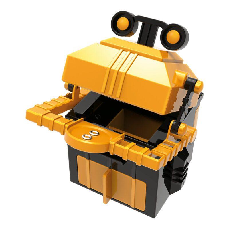Robot Spaarbank Maken 4M Geel Zwart Neutraal Leuk Ontdek Bouw Speel Kind 4msp-5603422
