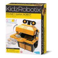 Robot Spaarbank Maken 4M Money Bank Robot Knutselen Bouwen Ontdekken 4msp-5603422