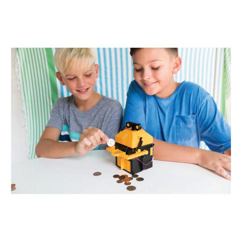 Robot Spaarbank Maken 4M Sinterklaas Kerst Kado Cadeau Tip Jongen Meisje 4msp-5603422