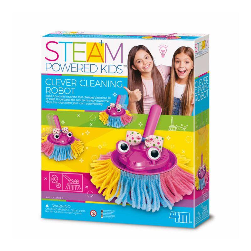 Slimme Robot Veger Maken 4M Bezem Stoffer Maken Knutselen Meisjes Speelgoed 4msp-5604908