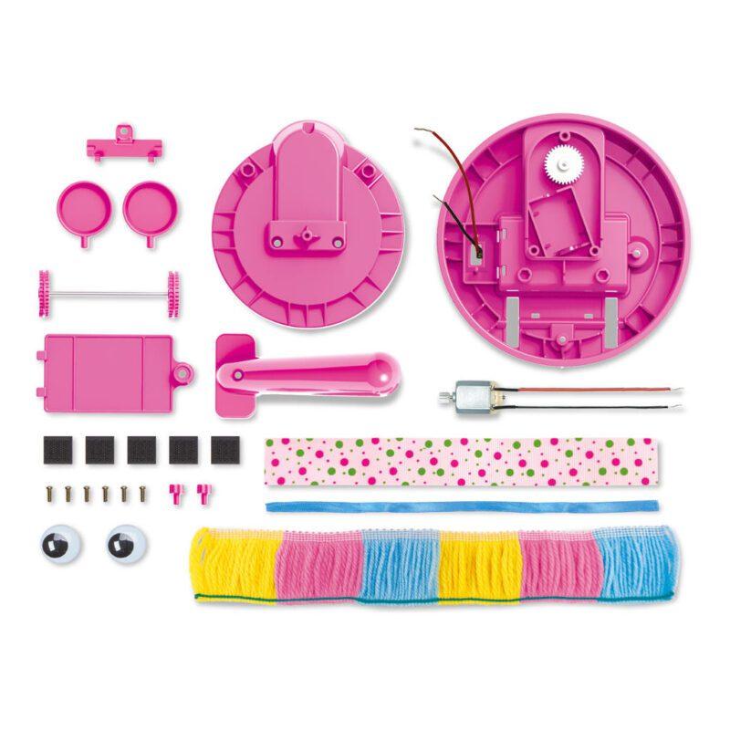 Slimme Robot Veger Maken 4M Inhoud Materialen Stoffer Maken Kind Meisjes Ontdekken Tecniek 4msp-5604908
