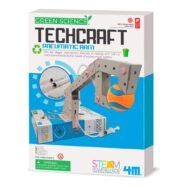 Techcraft Grijparm Maken 4M Pneumatic Arm Green Science Karton Grijper Jongens Lucht Boys 5 Jaar Cadeau Kado Sint Kerst Tip 4msp-5603443