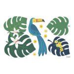 Toekan Muursticker L Rio Lilipinso Baby Peuter Kleuter Kinder Speel Kamer QIDDIE.com lili-s1428
