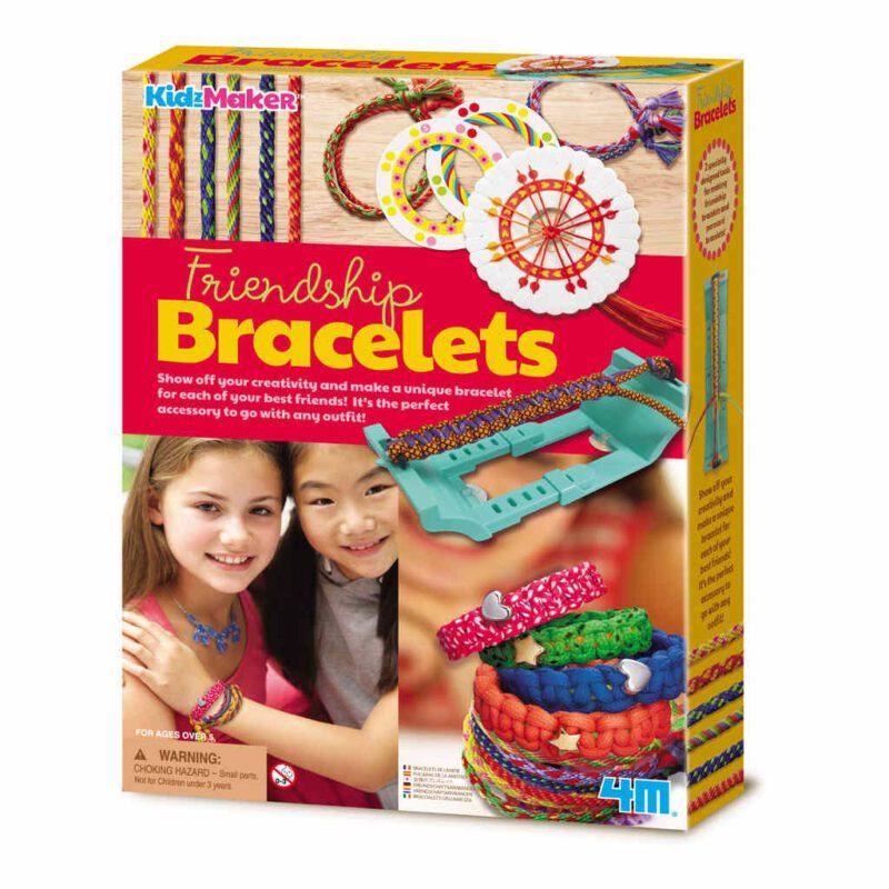 Vriendschapsbandjes Maken 4M Vlechten Apparaat Meisjes Girls Leuk Handenarbeid Creatief 4msp-5604728