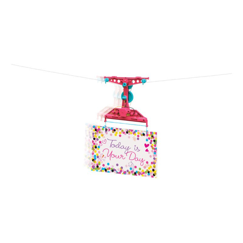 Zipline Maken 4M Steam Powered Meisjes 4M Speelgoed Knutsel kreatief Spelen Kleuren 4msp-5604909