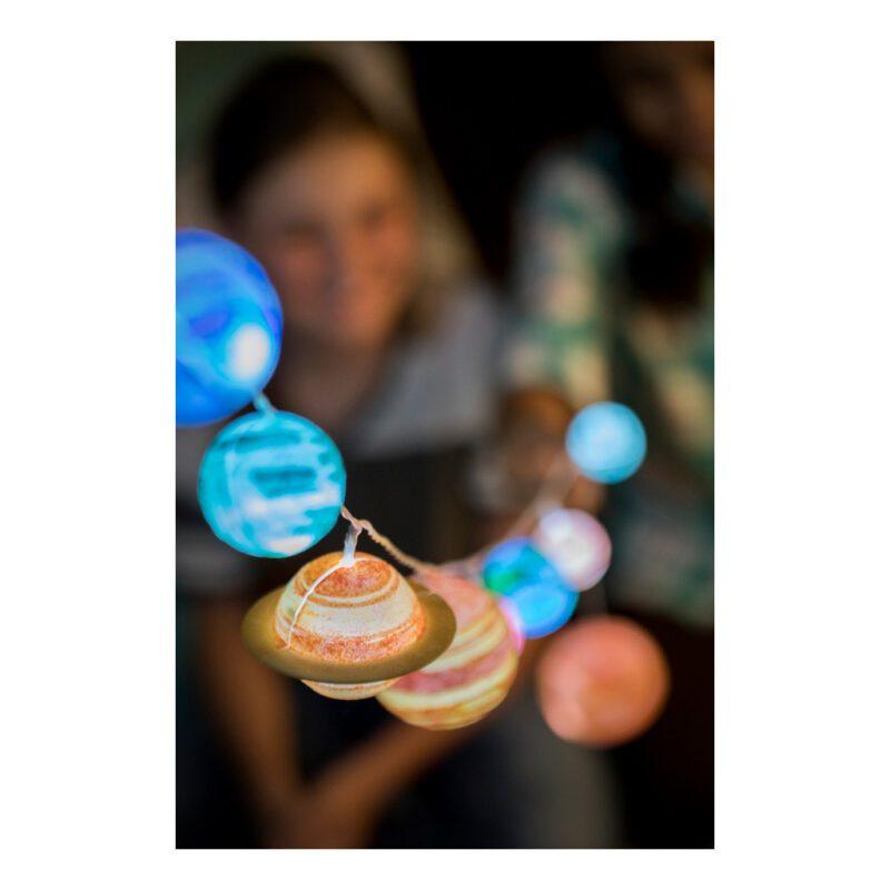 Zonnestelsel Slinger Maken 4M Led Lamp Batterijen Kind Maken Bouwen Ontdekken 4m Speelgoed 4msp-5604905